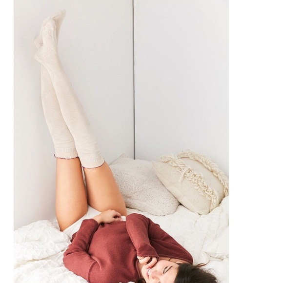 0eec3b1ec1b  Urban Outfitters  Out From Under Thigh High Socks
